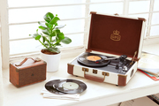 Stylish Vinyl Record Players by GPO Retro