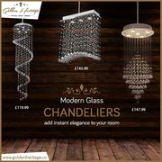 Shop Online for Vintage Glass & Crystal Chandeliers