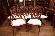 Mahogany Hepplewhite Dining Chairs