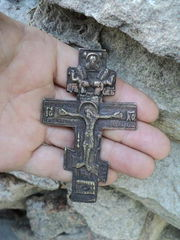 Ancient cross,  amulets of ancient Kievan Rus.