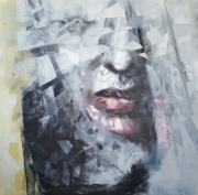 Obscure (Painting By Stanciu Razvan)