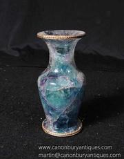 Blue John Urn Vase Fluorite Interiors