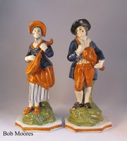 Nestegg Antiques UK - Antique Toby Jugs,  English Delft,  Creamware